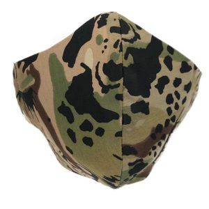 Face Mask leopard camouflage print